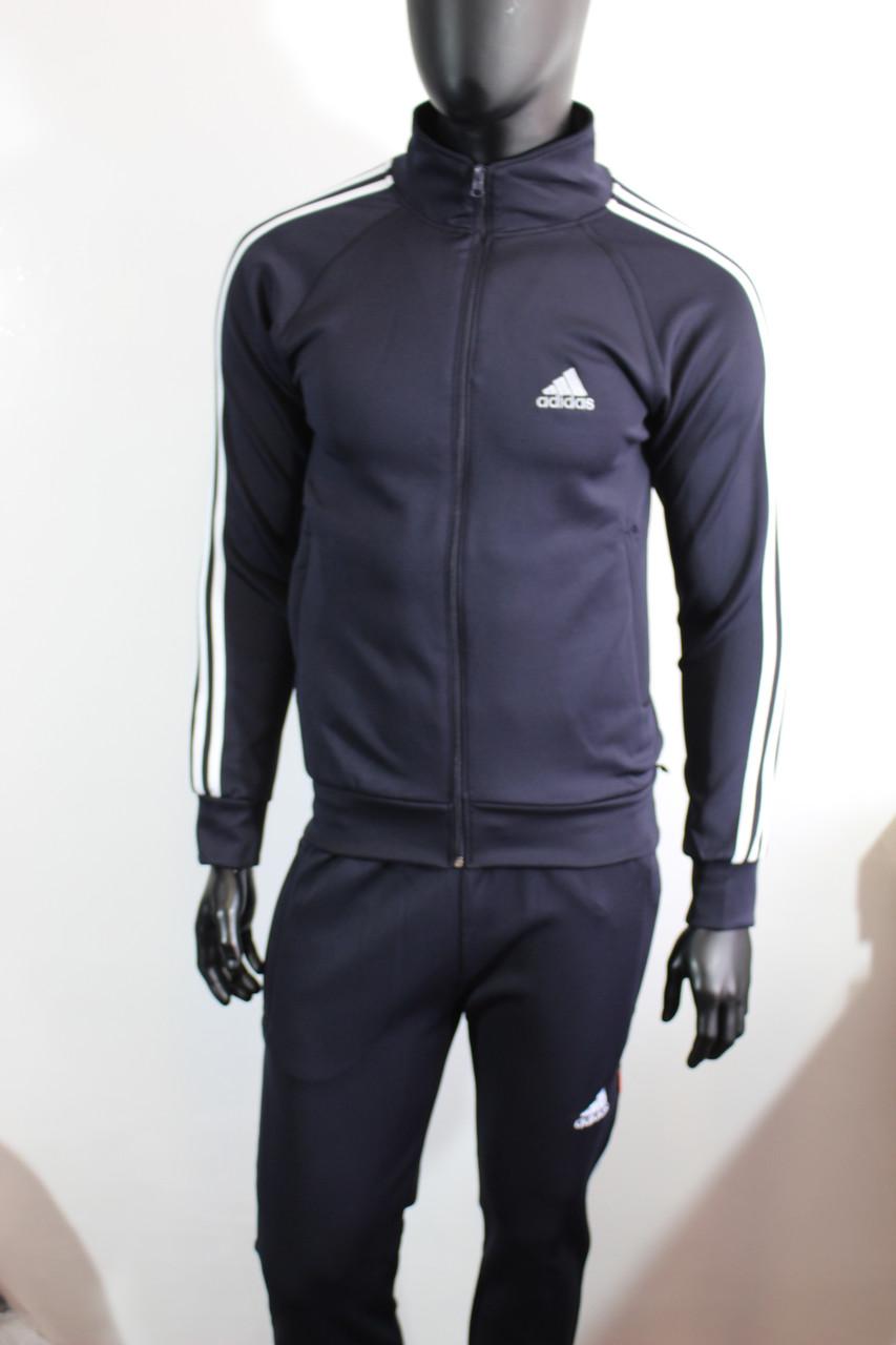 dd306917 Мужской спортивный костюм Адидас эластик синий цвет купить, цена 750 грн.,  купить в Хмельницком — Prom.ua (ID#40308858)