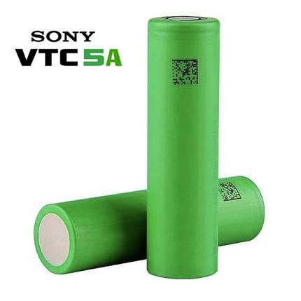 Sony US18650VTC5A 2600mah (до 35А) - високотоковий акумулятор для електронних сигарет. Оригінал, фото 2