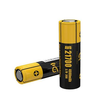 Avatar AVB 21700 4000mAh (30А) - високотоковий акумулятор для електронних сигарет. Оригінал, фото 2