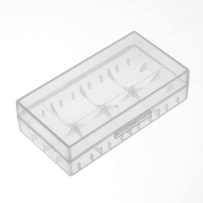 Пластиковий кейс для акумуляторів 18650 і CR123A