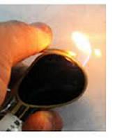Зажигалка газовая очки