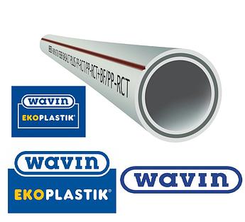 Полипропиленовые трубы Wawin Fiber Basalt Plus pn28 d20 Ecoplastik