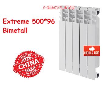 Радиатор биметаллический HeatLine Extreme 500*96