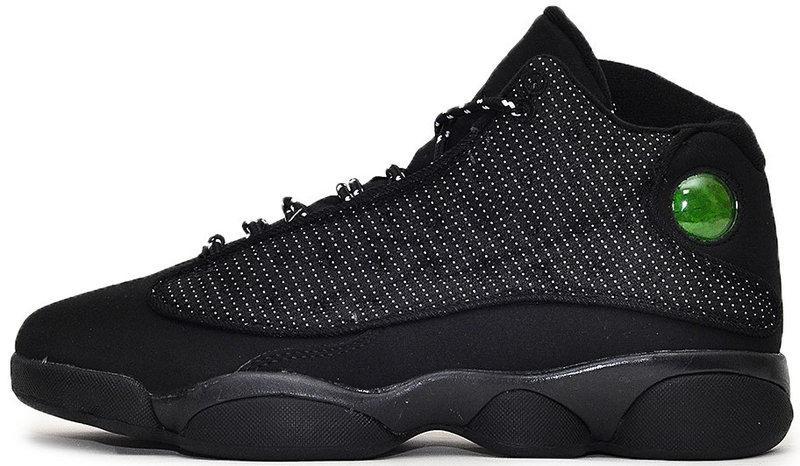 """Баскетбольные кроссовки в стиле Nike Air Jordan 13 """"Black"""""""