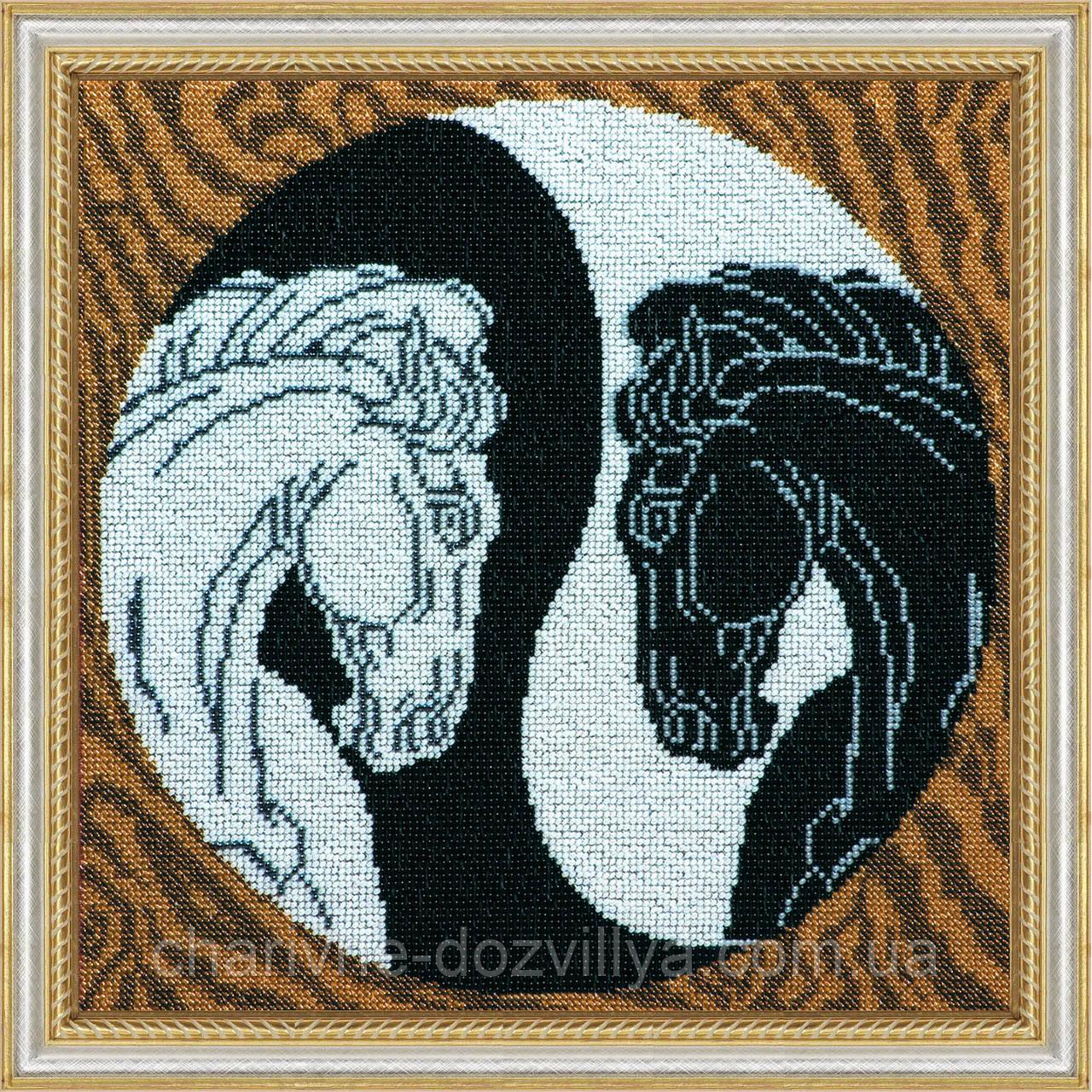 Набор для вышивания бисером Инь и Янь