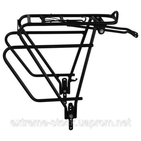 Велосипедный багажник Bike&Co Matrix Pro, чёрный, + пружина