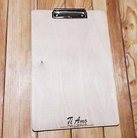Планшет из дерева для меню