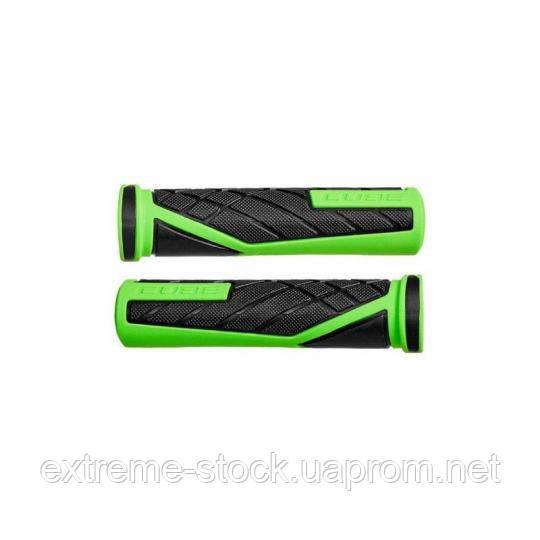 Грипсы Cube Perfomance Grips, чёрно-зелёные, Kraton