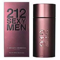 туалетная вода Carolina Herrera 212 Sexy Men 100 ml, фото 1