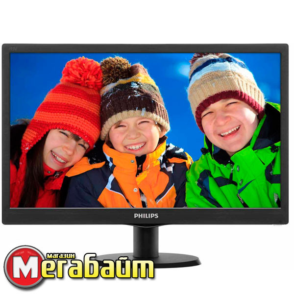 "Монитор Philips 18.5"" 193V5LSB2/62 Black"