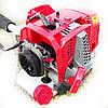 Мотокоса Eurotec 33.6 куб.см, с ножом и леской, 3.6 кВт, бензокосилка, коса, бензокоса, фото 8