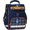Украина Рюкзак школьный каркасный с фонариками Bagland Успех 12 л. синий 432 (00551703)
