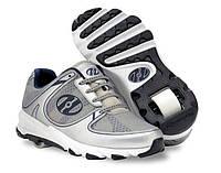 Роликовые кроссовки Heelys Sprint 7859 (40.5, Серый)