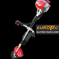 Мотокоса Eurotec GT 110 (2018) з ножем і шпулею, маска, 3.6 кВт, 33.6 куб. см, бензокосарка, коса