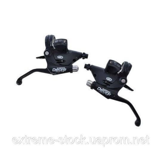 Моноблоки Shimano Deore ST-M510, 3x9, V-brake, чёрные