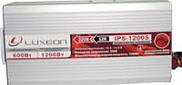 Инвертор напряжения 12-220 Вольт 600Вт Luxeon IPS-1200S чистая синусоида