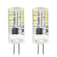 Лампа LED Feron Optima LB-597 G4 3 Вт 4000K холодный свет 2 шт N30514965