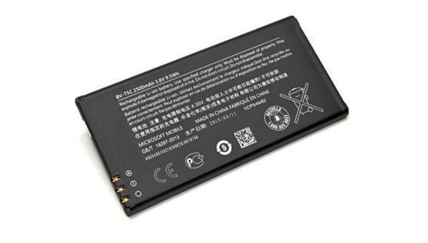 Акумуляторна батарея BV-T5C для мобільного телефону Nokia(Microsoft) 640 Lumia