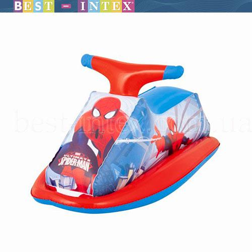 98012 BW Надувной скутер 89х46 см, Spider-Man