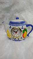 Часы кухонные настольные чайник