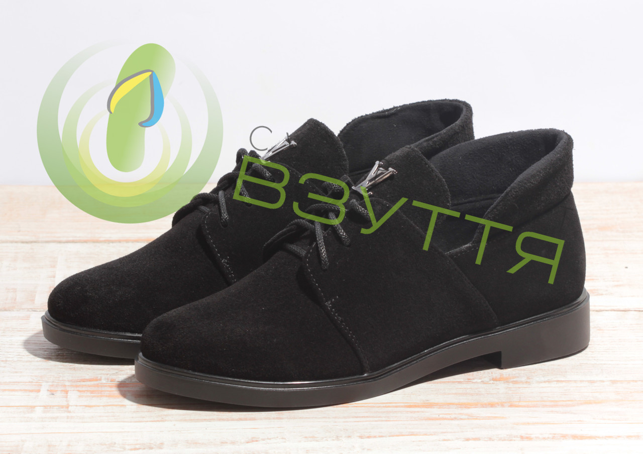 Замшевые женские туфли весна-осень Sothbys Т-136 з  36-40 размеры