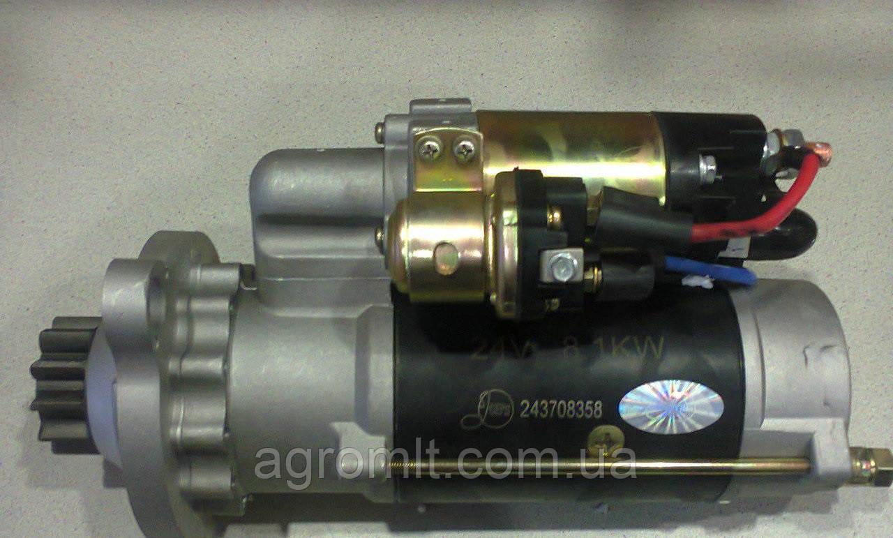 Стартер редукторный СМД14-18/20-22 12В 4.2 кВт (123708358) пр-во Jubana