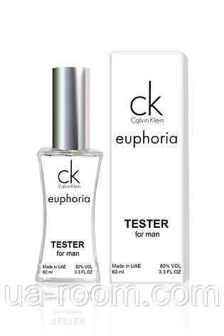 Тестер мужской Calvin Klein Euphoria Men, 60 мл., фото 2