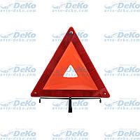 Знак аварийной остановки Winso евро стандарт, пластиковая упаковка