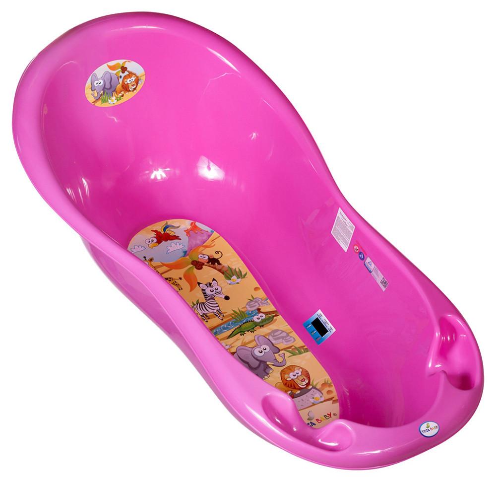 Ванночка Tega Safari SF-005 с термометром розовая