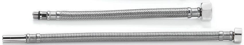 Шланг для змішувача TUCAI TAQ GRIF H1/2-M10-L17+L37 0,5 м ПАРА на кронштейні