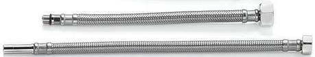 Шланг для смесителя  TUCAI TAQ GRIF H1/2-M10-L17+L37 0,4 м ПАРА на кронштейне , фото 2
