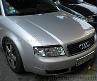 Реснички бровки Audi A6 C5 рестайл