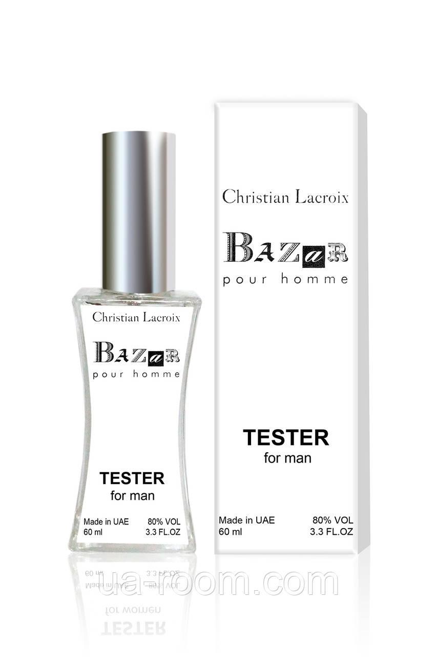 Тестер мужской Christian Lacroix Bazar pour homme, 60 мл.
