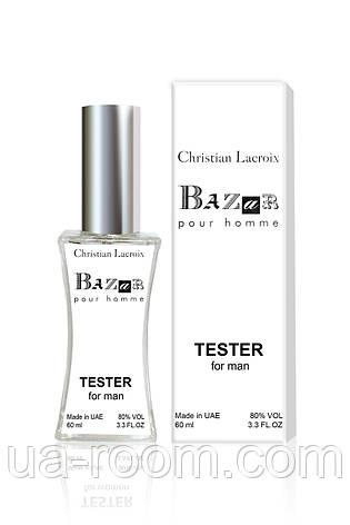 Тестер мужской Christian Lacroix Bazar pour homme, 60 мл., фото 2