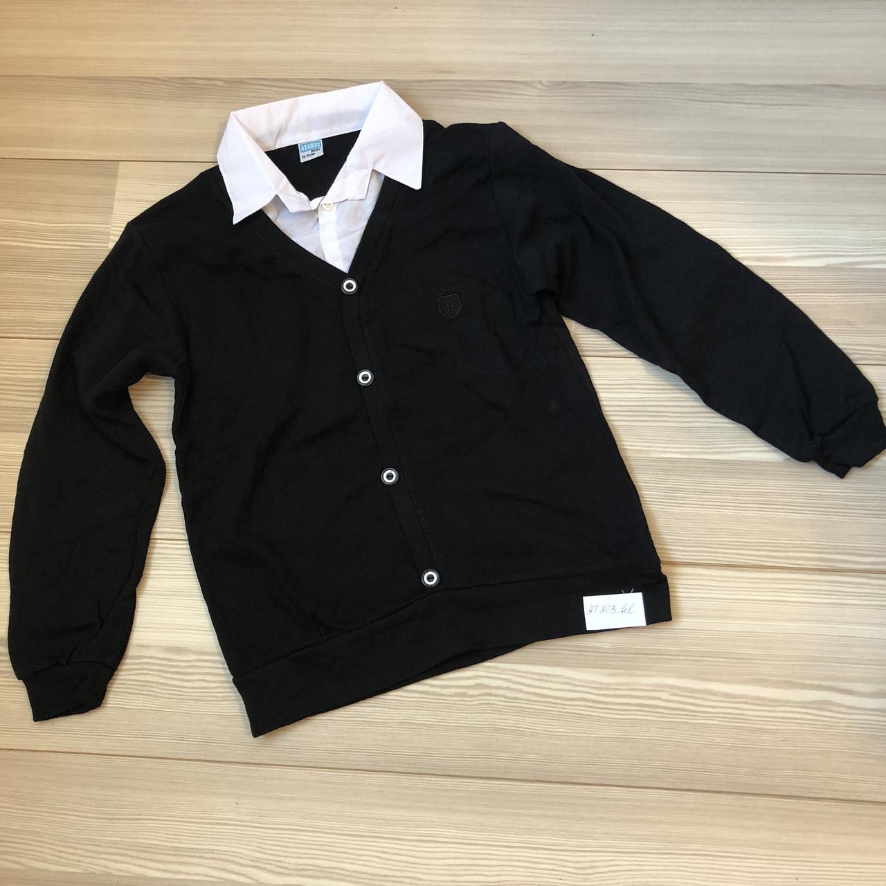 """Кофта-рубашка """"обманка""""для мальчика ,  5-13 лет"""