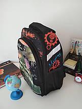 Школьный текстильный рюкзак Migini для мальчика 40*30*17 см, фото 2