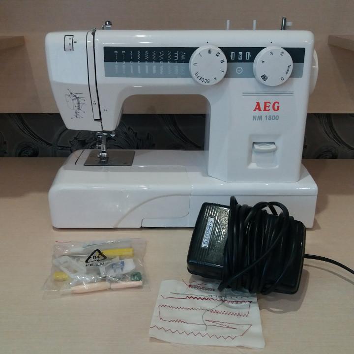 швейная машинка aeg nm 811 инструкция