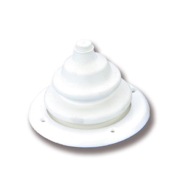 Конус под лодочный руль белый цвет Wire steering cone