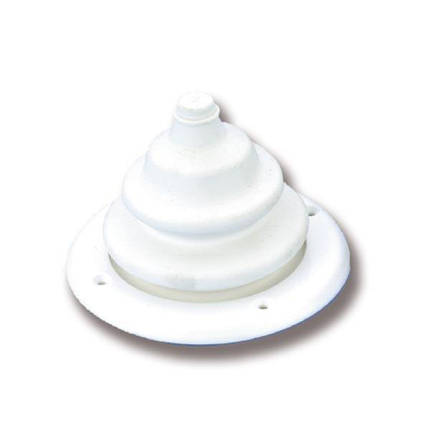 Конус под лодочный руль белый цвет Wire steering cone, фото 2