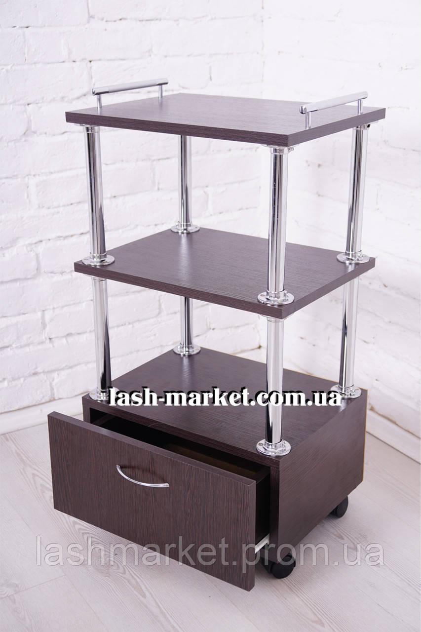 Тележка мастера с выдвижным ящиком(TM Beauty Comfort)