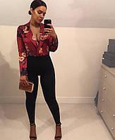Женская шикарная блуза-боди (2 цвета), фото 1