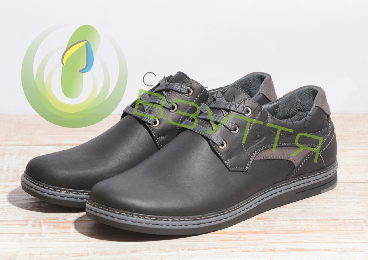 Кожаные мужские туфли ESCO 832 42 80bb8d5b151dc