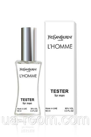 Тестер мужской Yves Saint Laurent L`Homme, 60 мл., фото 2