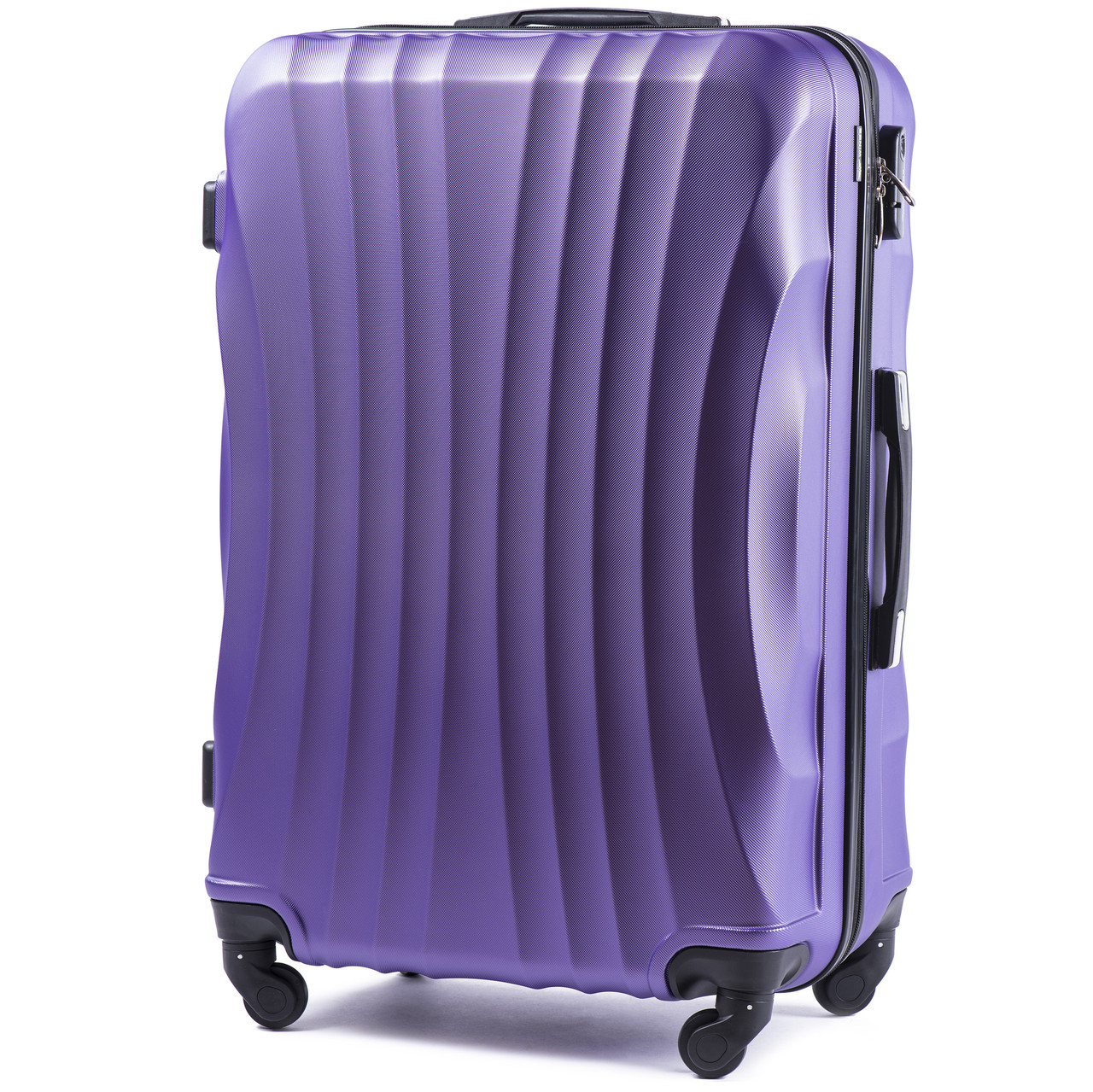 bb1f2064ee2a Большой пластиковый чемодан Wings 159 на 4 колесах фиолетовый - Best Bag в  Николаеве