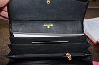 Женский кошелек шанель черный