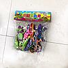 Фигурки игровой набор ящериц 8 шт большие