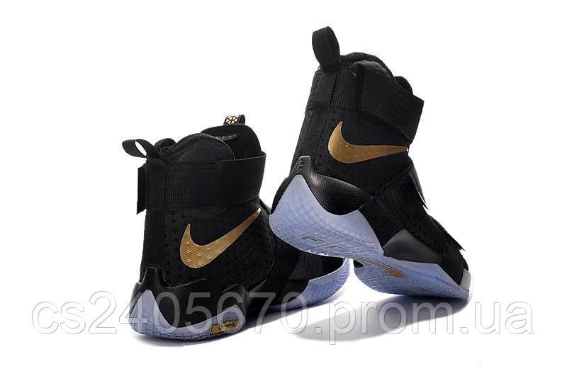 46511f92 ... Баскетбольные кроссовки Nike Lebron Solder 10 (черный/синий), фото 4