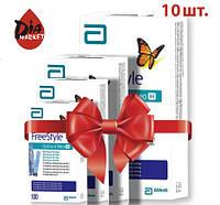 Тест-полоски Фристайл Оптиум (Freestyle Optium) -  10 упаковок по 100 шт.
