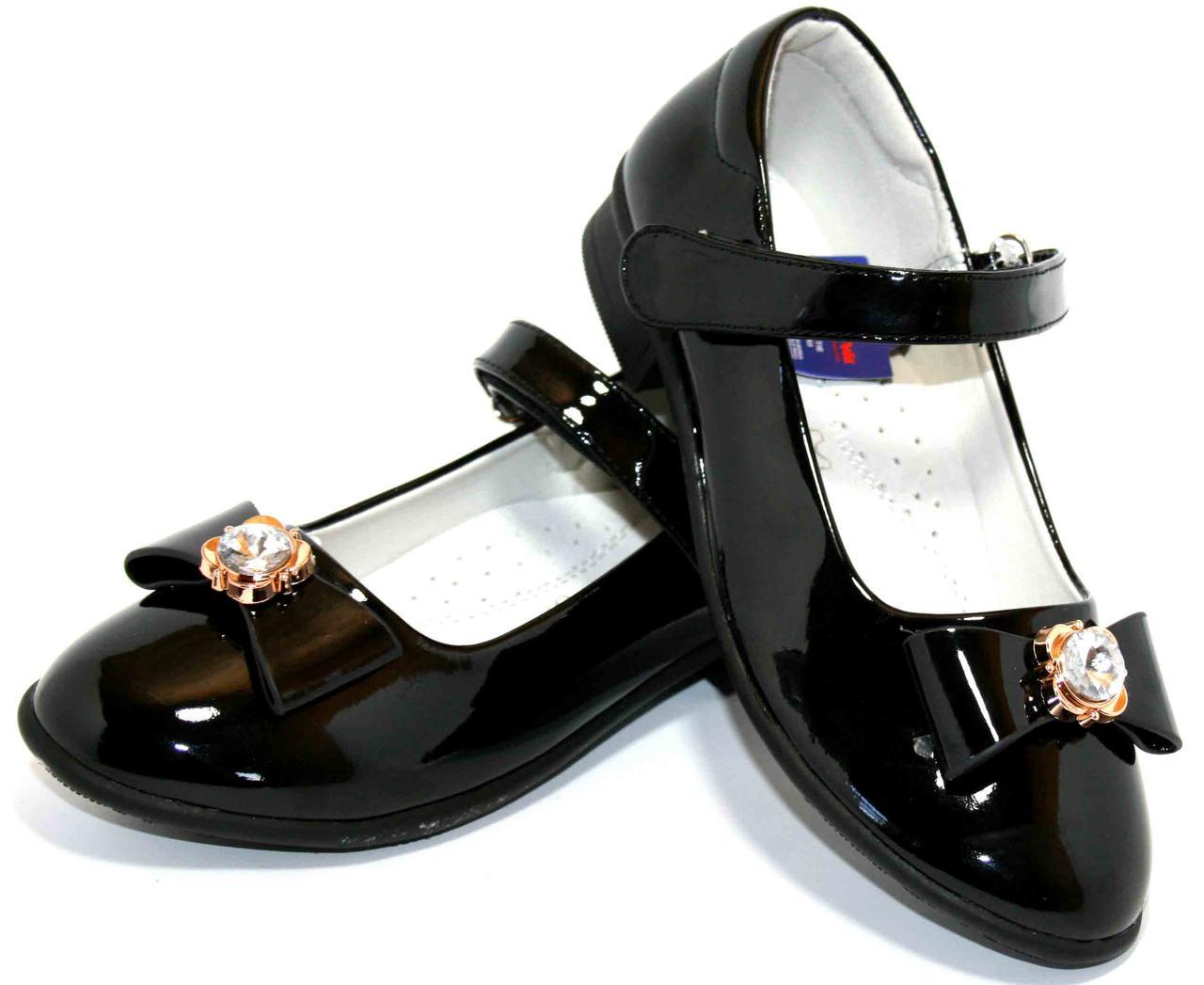 Дитячі нарядні туфлі для дівчинки Apawwa (розміри 32-37)