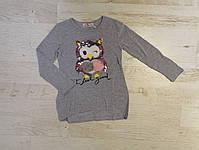 Трикотажный реглана для девочек оптом, Seagull, 3/4-7/8 лет., aрт. CSQ-52082, фото 3